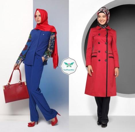 Tekbir Giyim Kırmızı Kıyafet Modelleri