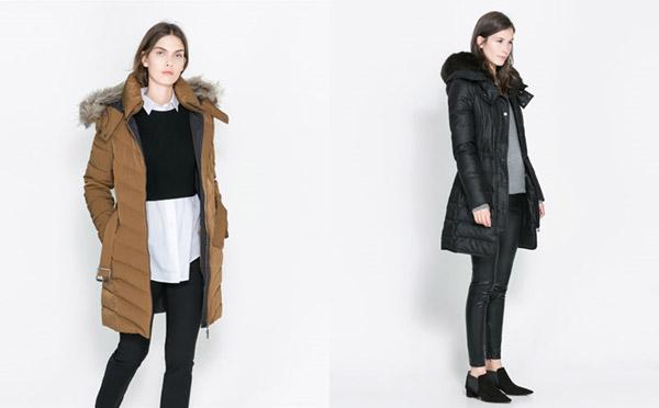 Zara 2013-2014 Manto ve Kaban Modelleri