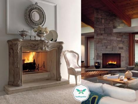 Şömine Modelleri ve Ev dekorasyon Örnekleri 2013