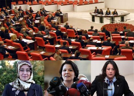 Meclis'te Başörtüsü Eylemi