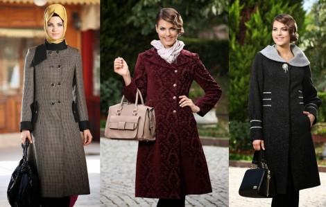 Sarmina Tesettür 2013-2014 Sonbahar Kış Koleksiyonu