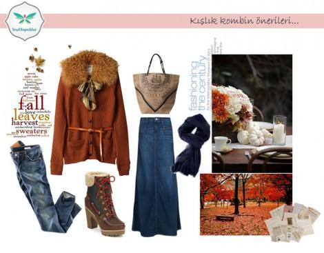 Tesettür Giyim Kombinleri 2013 2014 Kış