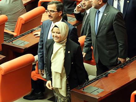Ve Başörtülü Vekiller Meclis Genel Kurulunda…