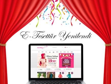 Tesettür Alışverişin Online Adresi E-Tesettür Yenilendi!