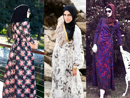 Elbiselerde Floral Desen Şıklığı