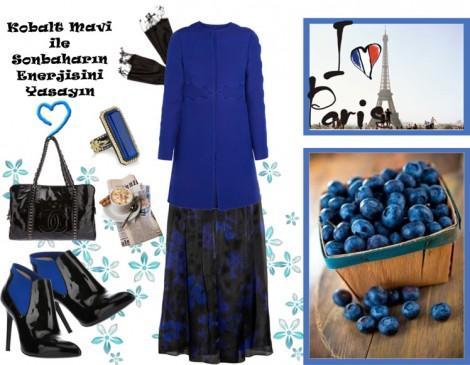 Sezon Trend Kobalt Mavisi Kıyafetlerde Nasıl Kullanılır?