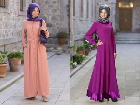 Kuaybe Gider 2014 Tesettür Elbise Modelleri