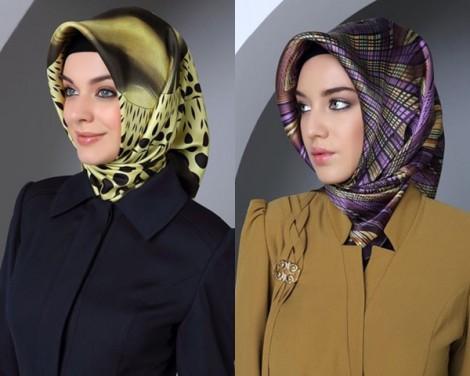 Tekbir Eşarp Modelleri 2014