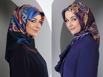 Tekbir Giyim 2013-2014 Sonbahar Kış Eşarp Modelleri