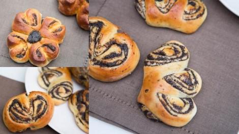 Üç Farklı Görünüşte Haşhaşlı Çörek Tarifi