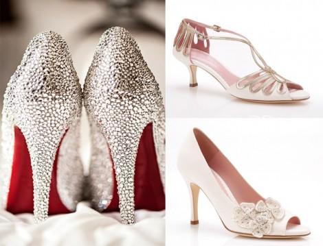 Gelinlik Ayakkabıları Modelleri 2014