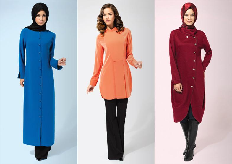 Huşe 2014 Tesettür Giyim Modelleri
