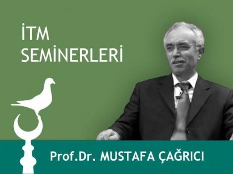 Kasım Ayı Etkinlikleri Prof.Dr. Mustafa Çağrıcı