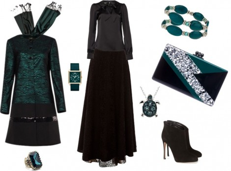 Kayra Tesettür Abiye Elbise Modelleri 2014