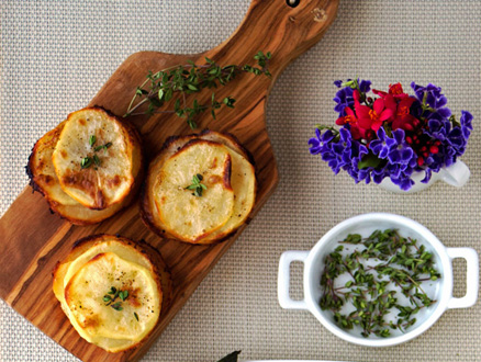 Kremalı Patates Muffin Tarifi