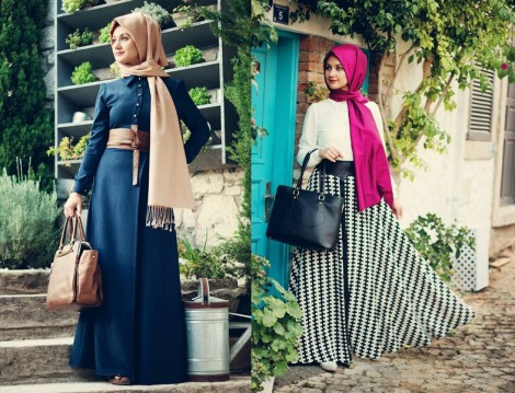 Minel Aşk Tesettür Giyim Modelleri 2014