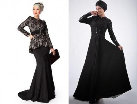 Tesettür Abiye Modelleri 2014