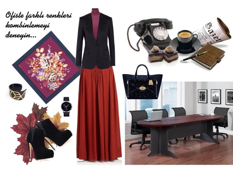 Tesettür Giyim Modelleri ve Kombinleri 2014