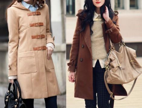 Tesettür Kaban ve Palto Modelleri 2014
