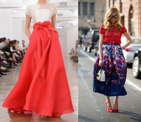 Tesettür Uzun Etek Modelleri 2014