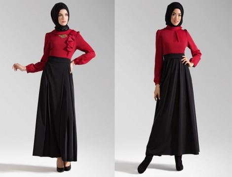 Tuğba Venn Tesettür Elbise Modelleri 2014