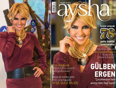 Aysha Dergi 2013'e Gülben Ergen ile Veda Etti!