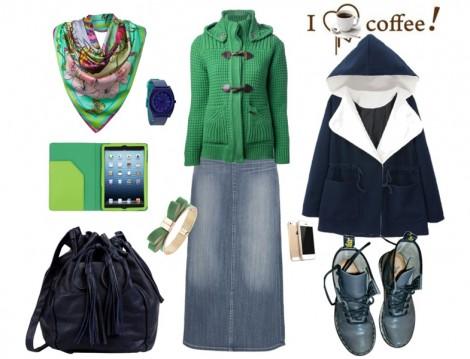 Genç Tesettür Giyim Kombinleri 2014