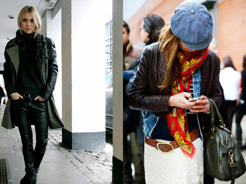 2014 Kış Trendi Kat Kat Giyinme Layering Modası