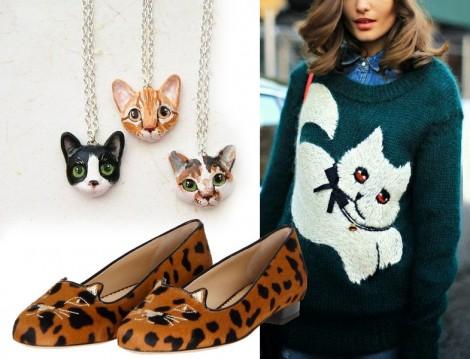 Kedi Desenli Kazaklar, Babetler