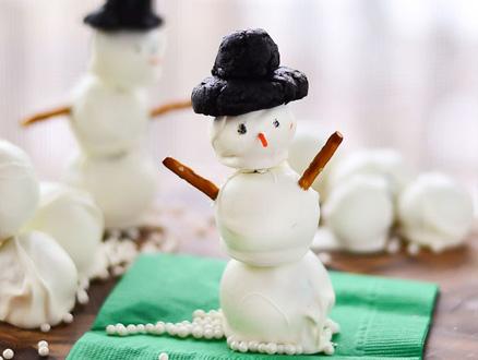 Krem Peynirden Kardan Adam Yapalım!