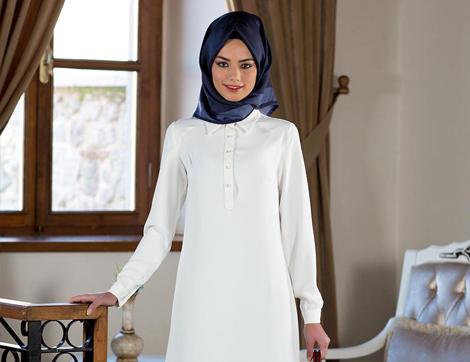 Tesettür Giyim Modellerinde Farklı Bir Stil