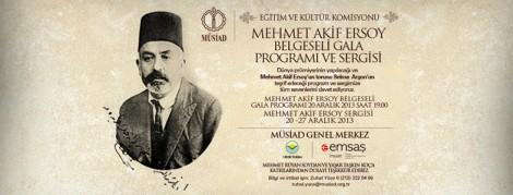 Mehmet Akif Ersoy'un Doğumunun 140. Yılı