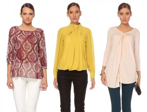 Roman Bluz ve Gömlek Modelleri 2014