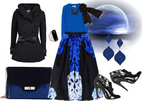 Tesettür Giyim Kışlık Kombin Önerileri 2014