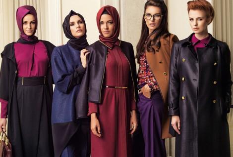 Tesettür Giyim Ofis Stili 2014