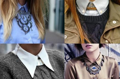 Yükselen Trend Gömlek Üstü Kolyeler