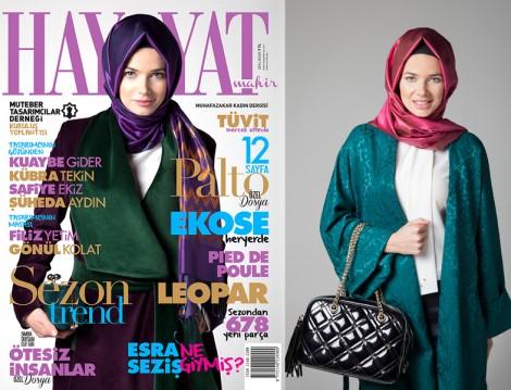 Muhafazakar Kadın Dergilerinin En Yenisi Hayyat