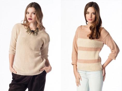 Kışlık Renkli Triko Modelleri 2014