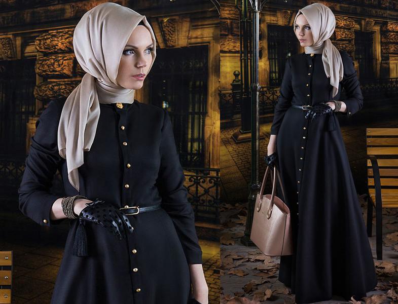 Tesettür Giyim ve Abiye Elbise Modelleri 2014 Müslima Wear