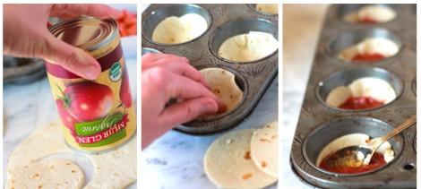 Tortilla Ekmeğinden Minik Pizza Tarifi