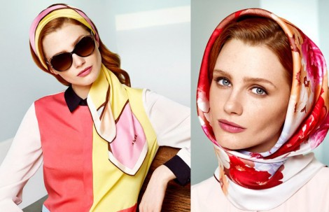 Aker 2014 İlkbahar Yaz Eşarp Modelleri