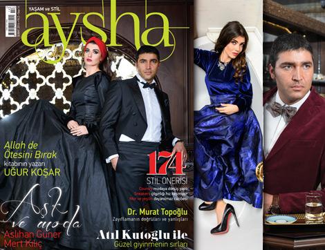 Aysha Dergi Şubat Sayısı Yine Dopdolu
