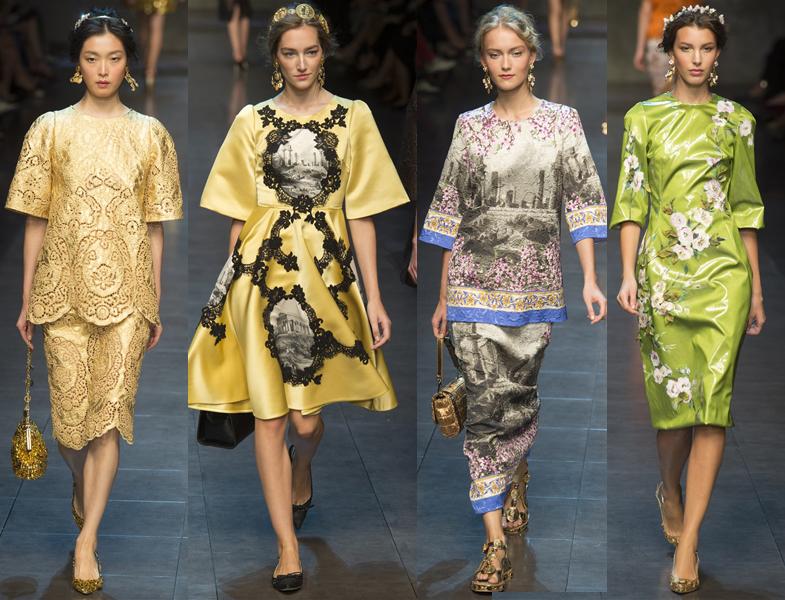 Dolce Gabbana 2014 İlkbahar-Yaz Koleksiyonu