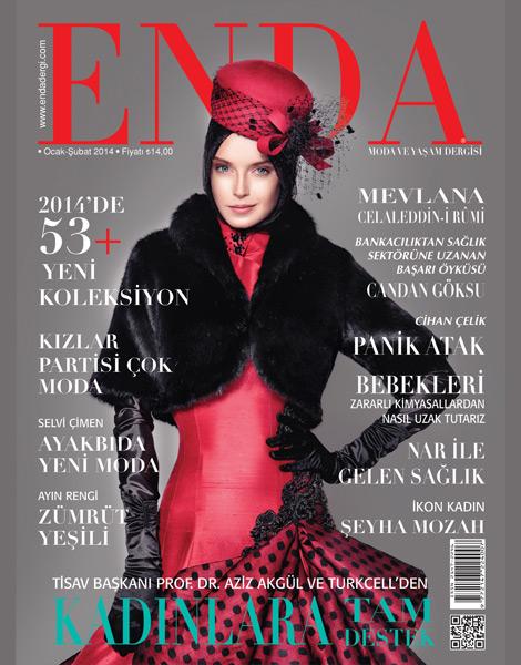 Enda Dergisi Şubat Sayısı