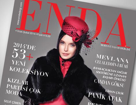 Enda Dergi Şubat Sayısı Okuyucularıyla Buluştu!