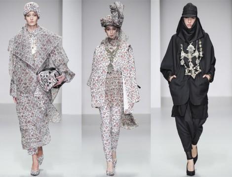 Farklı Tesettür Giyim Modelleri 2014