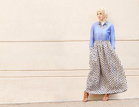 Dünyaca Ünlü Haute Hijab Yeni Koleksiyonuyla Bahara Göz Kırpıyor!
