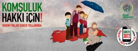 Komsuluk Hakkı İçin Yardım Tırları Suriye Yollarında