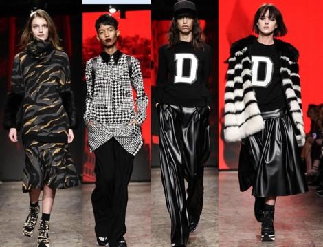 New York Moda Haftası 2014 DKNY