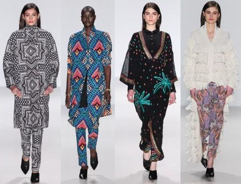 New York Moda Haftası 2014 Mara Hoffman